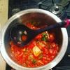 【料理】鶏肉のトマト煮