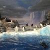 コウテイペンギンと遊園地