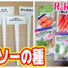 【R-kun農園】100円ショップダイソーの種はいかほどか?~野菜を育てる!