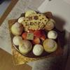 ケーキを貰いに。