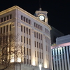 東京銀座晴海通り夜景🌃✨『銀座和光と三越の新年の装い』