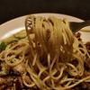 ケイジャンミート・バジルソースのスパゲティ