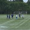 西海学園サッカー部とのトレーニングマッチ。