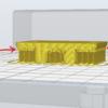 【3Dプリンタ】サポートの上の層が荒れてしまうときはサポートインターフェースを使うとよさそう