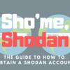 Shodanでアカウント登録する方法を画像つきで解説してみた。