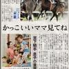 中日新聞でも「宮下瞳騎手」復帰の記事が!(しかも社会面)