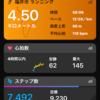 7/29朝歩きチョッチラン?い55分