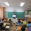 1年生:出校日 宿題を提出