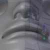 顔のモデリングの超詳細手順 その4 顔を作り込む!:Blender