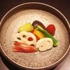 彩り夏野菜の炊き合わせ 神戸三ノ宮の和食は安東