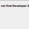 【XCode】実機転送しようとしたらCould not find Developer Disk Image