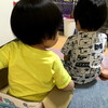 ちょんまげ恐怖症の息子はネジネジ頭もNG、娘はジャンプできずにびょんびょん - 年子育児日記(2歳9ヶ月,1歳3ヶ月)