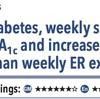ACPJC:治療 2型糖尿病患者では、週1回セマグルチドは週1エクセナチドと比較してHbA1cを低下させ体重を減少させる