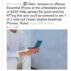 Essential Phone Amazon プライムデーに合わせて半額セール