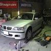 BMW ラジエター液漏れ修理。(神戸)