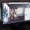 PC用ディスプレイを新調しました。ちょっとだけ大きくなりましたのよ