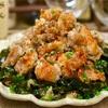 【レシピ】カリカリ鶏皮のわかめおろしポン酢