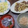 白菜が安い食卓