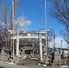 巨古木の欅が凄いねっ『湯福神社』長野市箱清水