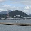 広島元宇品から臨む黄金山です。かつては仁保城がありました。