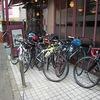 (自転車)出征兵士を送るラン