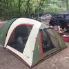 テントを建てに@ウェルキャンプ西丹沢
