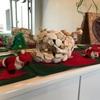 クリスマスの飾りつけ   玄関の中