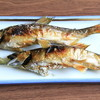 長岡花火の翌日に「川口やな場男山漁場」にて鮎と鰻を食べる