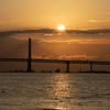 インターバル撮影で日の出を撮影