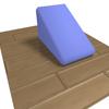 くさび形のブロックを利用したリリーステクニック