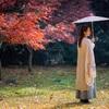 灵谷寺でポートレート 南京まで秋の景色を求め秋映金陵撮影旅行(1)