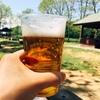 平日の昼間っからバーベキューしながら飲むビールは至福(´ω`*)