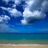 スリンビーチは今日もターコイズブルー.