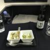 日本航空のビジネスクラス(復路)