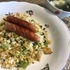 ★「小松菜のぱらぱらチャーハンランチ」レシピ付き&「鯖のパン粉焼き定食」