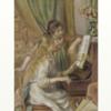 ルノワール 「ピアノに寄る少女たち」 実はホラー作品