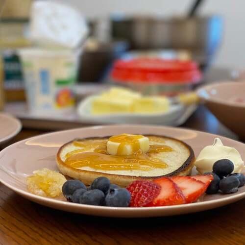ふわもち食感の九州パンケーキ
