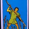 タロットカード ワンド7(棒7 杖7) の意味