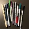 ホテルのペンのコレクション