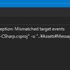 【Unity】【C#】MessagePackCSharpのコードジェネレーターのエラー回避方法について