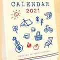 ハンディメモカレンダー 卓上 2021年1月始まり A6 | RYU RYU(リュリュ)
