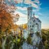 カリオストロの城のモチーフとなって幻想的なお城 リヒテンシュタイン城(ドイツ)