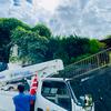 古家の解体工事準備のためにインフラ切断(電話とインターネット)