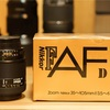 ニコン AI AF Zoom Nikkor 35-105mm F3.5-4.5D(IF)