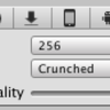 Unity5 画像圧縮 Crunched Compressed 16bit Truecolor