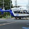 2020年9月18日(金) JAXAの実験ヘリコプターJA21RHが整備を終えて調布飛行場に帰ってきた話