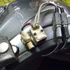 ヘルメット側配線処理リニューアル・その2