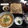 美乃庵の親子丼とざる蕎麦セット