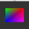 【OpenGLでゲームを作る】四角形のポリゴンにシェーダで色を塗る