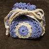 円形モチーフの巾着